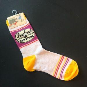 Blue Q -Duchess of Sassytown socks
